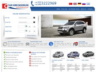 Car Hire Bodrum