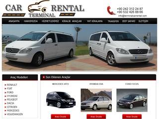 CAR RENTAL TERMİNAL
